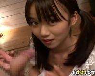 【主観フェラ】天使のようなツインテールロリ美少女が隠語連発しながらコッチ見ながらいやらしいフェラww