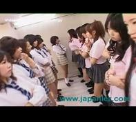【乱交パーティー】レズビアンの花園!女子高校でレズキスまんぐり返しクンニ乱交パーティーww