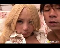 【パイパン黒ギャル】いかにもビッチな金髪黒ギャル女子高生の美味しそうなパイパンおまんこペロペロ舐めまくって69ww