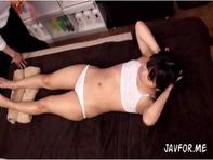 【JC媚薬マッサージ】エステサロンの無料体験に釣られたツインテールのJCロリっ娘に媚薬中出しマッサージww