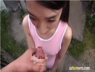 【ごっくんJS】ちっぱい貧乳JSロリっ娘に透け透けスク水着せて手コキフェラチオを教えてゴックンさせたいんだおww