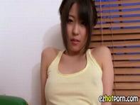 【イメージビデオ】デカ尻クビレがエロいロリっ娘のスケスケ乳首タンクトップとYシャツのイメージビデオがメチャシコww
