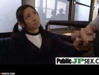 【JCセンズリ鑑賞】ジャージ姿のツインテールJCロリっ娘にセンズリ鑑賞させて手コキ&露出フェラチオさせたったったww