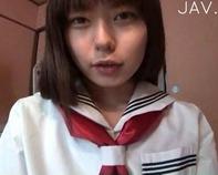 【JC口内発射】JC中学生セーラー黒髪美少女な妹が大好きなお兄ちゃんのドM肉便器に調教される口内発射ww