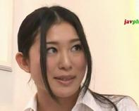 【清楚なOL北川美緒】色っぽい清楚なOL北川美緒さんが脅迫されてオフィスセックスしちゃうww