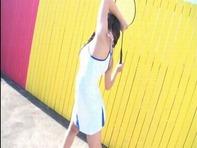 【月島かれん】エロい身体したジュニアアイドル月島かれんちゃんの喰いこみオマンコ丸見えイメージビデオww