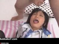 【ぶっかけ顔射】AKB前田●子激似の女子高生琥珀うたちゃんにどぴゅっどぴゅっとザーメンの雨を降らせるブッカケ顔射シャワーww