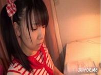 【JSアナル】まるで小学生な愛須心亜ちゃんが初めてのアナル拡張プレイでアナルが変形しながらも潮吹くアナル処女喪失ww