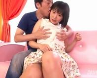【クンニ中学生】中学生みたいでロリかわいいショートカット君野由奈ちゃんをド変態クンニで性調教ww