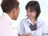 【初めての3P】ウブな巨乳娘吉川あいみちゃんがおっぱい揺らして初めての3Pですww