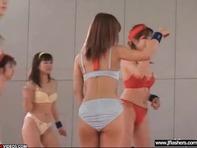 【全裸バスケ部】全員が全裸でく楽しそうに試合をする女子○生バスケットボール部が突き抜け過ぎてる件ww