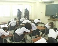 【中出しレイプ地獄絵図】テロリスト集団が女子高校を襲撃!クロロホルムを散布してクラスの女子全員中出し放題レイプ地獄絵図ww