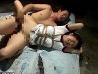 【JCレイプ】拉致監禁されたロリJCが亀甲絞りノーパン体操服で犯されまくる汗だくセクロスww
