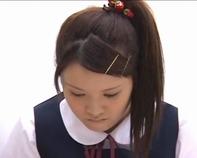 【センズリ鑑賞】優等生の憧れの女子高生にビンビンに反り返った勃起チンポのセンズリ鑑賞見せてみた結果ww
