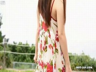 【着エロオナニー】メチャクチャ可愛い小さな女のコ清純派美少女葉山めいちゃんの初々しい着エロオナニーww