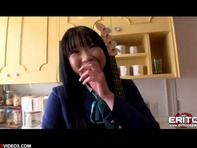 【ロリレイプ】ムチムチぽっちゃりのロリかわいい秋山澪ちゃんにフェラチオさせノーパン立ちバックですww