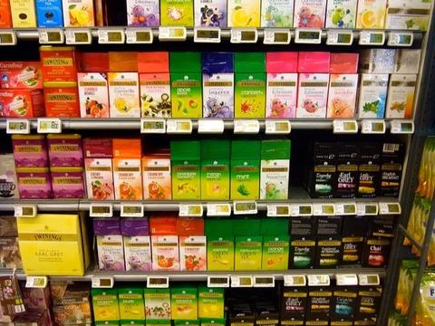 スーパーで紅茶 ブリュッセル