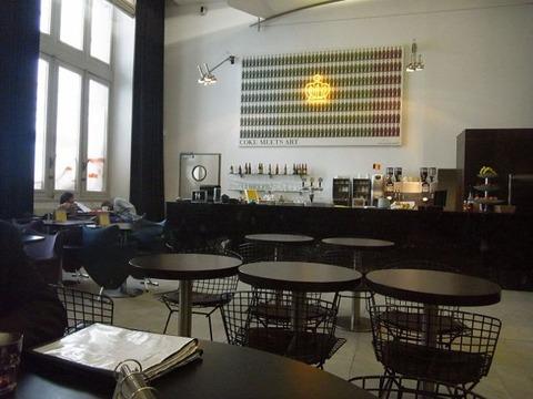 ベルギー王立美術館 カフェ