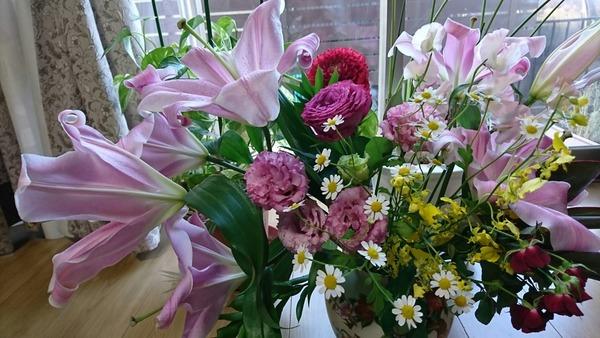 すてきな花束ありがとう