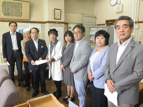 埼玉県へ 狭山市児童虐待死事件について申し入れ