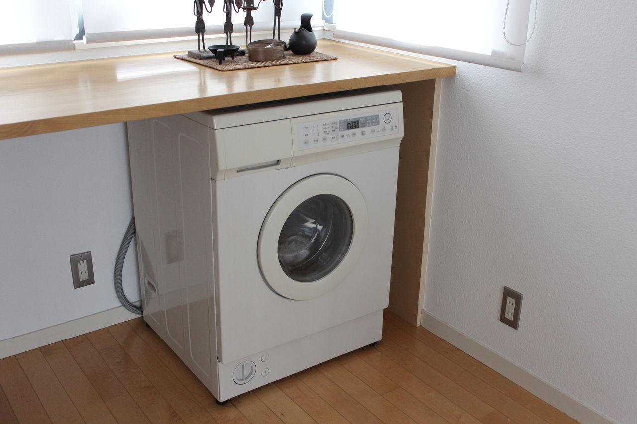 大切なモノに囲まれた暮らし:キッチンに「洗濯機」 - livedoor blog