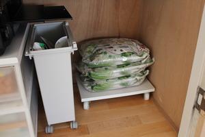 備蓄米の収納