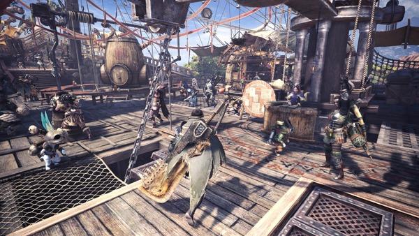 Monster-Hunter-World-Multiplayer-Lobby