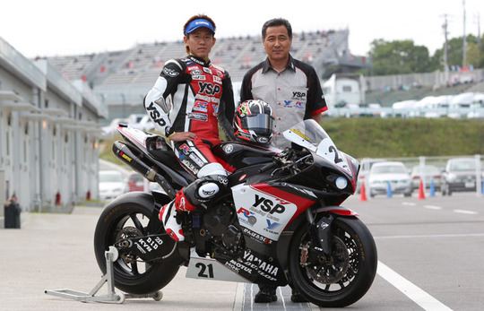 JSB1000クラス出場の中須賀選手