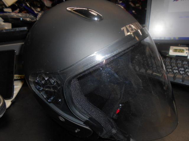 ヘルメット収納・・・・