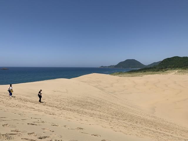 鳥取砂丘ツーリングルート