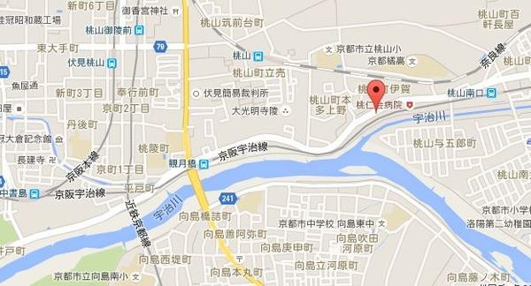 YSP伏見地図