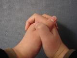 手の組み方