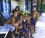 タヒチの子供たち