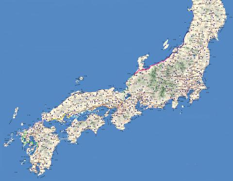 全国地図行程6
