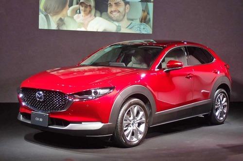 マツダの新型SUV「CX-30」デビュー! SUVラインナップがさらに充実