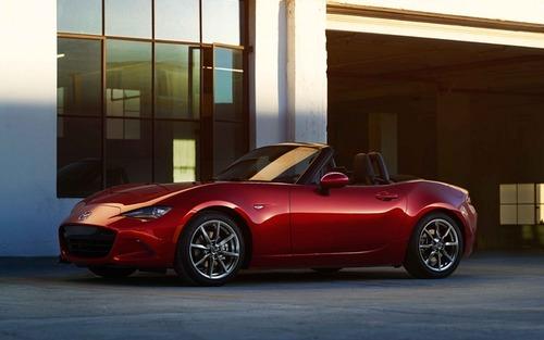 マツダ 新型ロードスター 米国仕様の燃費公表…先代比で25%向上!