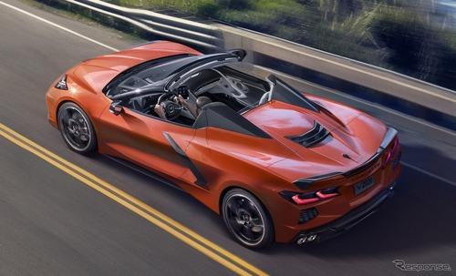 シボレー「コルベット」2021年モデル発表!6.2L V8搭載 495馬力
