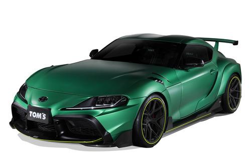 トムス、「スープラ」のコンプリートカー発表 99台限定 価格は1423万円