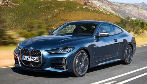 BMW、新型4シリ世界初公開!あそこがさらに大きく・・・
