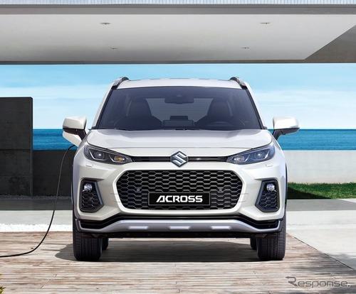 スズキ、新型SUV『アクロス』発表! トヨタ RAV4 PHVベースのOEM