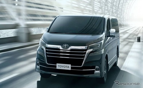 トヨタ、新世代高級ミニバン「グランビア」発表!※