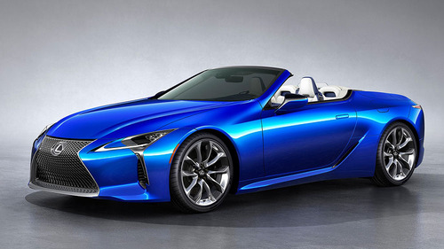 レクサス「LCコンバーチブル」6月27日発売! 国産V8オープン誕生