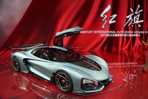 【中国車】紅旗のHVスーパーカー「S9」。1400馬力以上、最高速400km/h超