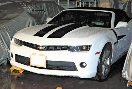 車検切れでカマロ運転、駐車違反70回以上、反則金は100万円以上に