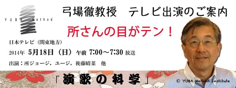 (関東地方)目がテン宣伝ワイド