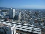 葵タワーからの景色。