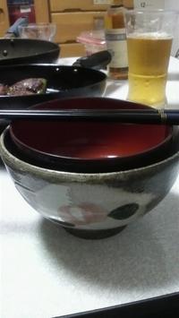 090614手作りお茶碗