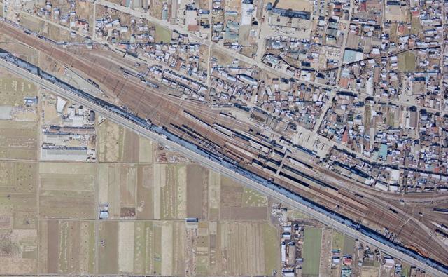 厚狭駅1 1975
