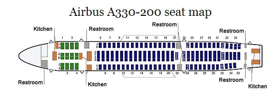旅行予約 A330-200