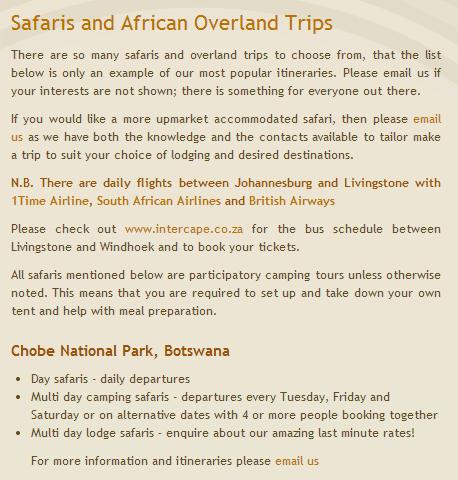 Zambia Jollyboys3 safari detail
